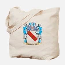 Thornton Coat of Arms - Family Crest Tote Bag
