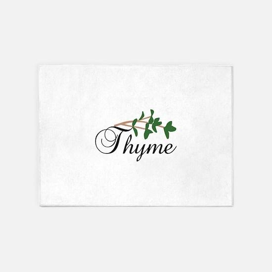 Thyme 5'x7'Area Rug