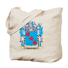 Thorsen Coat of Arms - Family Crest Tote Bag