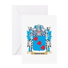 Thorsen Coat of Arms - Family Crest Greeting Cards