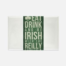 eat, drink, Irish, Reilly Magnets
