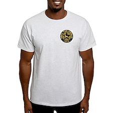 Obey the Vizsla! logo Ash Grey T-Shirt