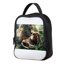 Lion Spirit.png Neoprene Lunch Bag