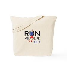 half marathon Tote Bag