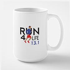 half marathon Mugs