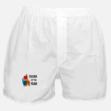 teacher of the year Boxer Shorts