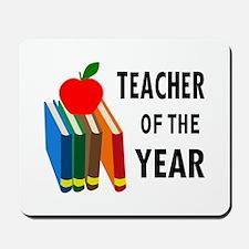 teacher of the year Mousepad