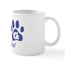 Blue DOG Small Mug