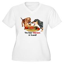 Best Wieners Dachshund Dogs T-Shirt