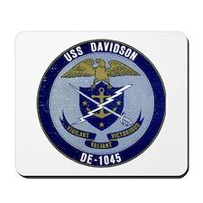 USS DAVIDSON Mousepad