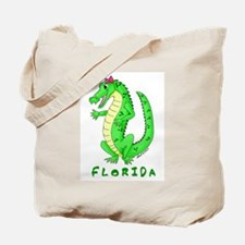 Cute Gator Tote Bag