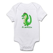 Cute Gator Infant Bodysuit