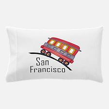 san francisco trolley Pillow Case