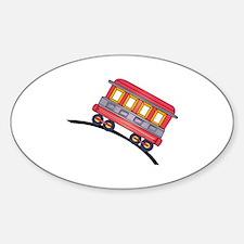 trolley car Decal