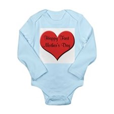 Happy First Father's Day Body Suit