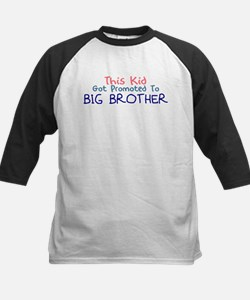 Promoted To Big Brother Baseball Jersey