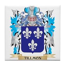 Tillmon Coat of Arms - Family Crest Tile Coaster