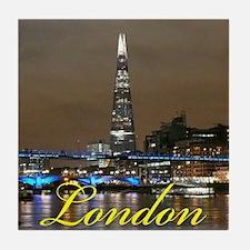 The Shard London Tile Coaster