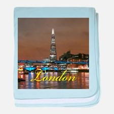 The Shard London baby blanket