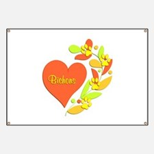 Bichon Heart Banner