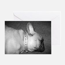 LEARY FRENCHIE Greeting Card