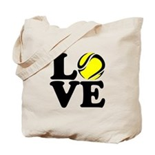 Love Tennis Tote Bag
