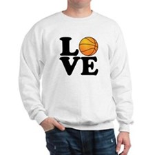 Love Basketball Sweatshirt
