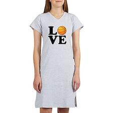 Love Basketball Women's Nightshirt