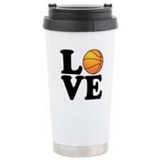 Love Basketball Travel Mug