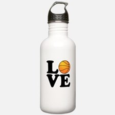 Love Basketball Water Bottle