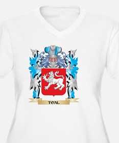 Toal Coat of Arms - Family Crest Plus Size T-Shirt