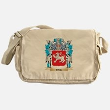Toal Coat of Arms - Family Crest Messenger Bag