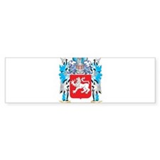 Toal Coat of Arms - Family Crest Bumper Bumper Sticker