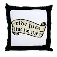 Mike R. Pro Model logo Throw Pillow