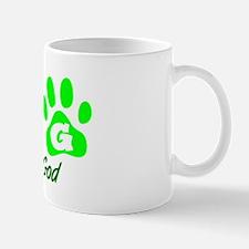 Green DOG Mug