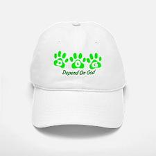 Green DOG Baseball Baseball Cap