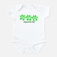 Green DOG Infant Bodysuit