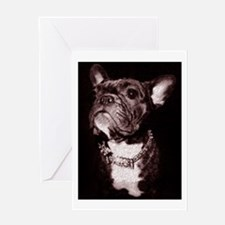 DIVA FRENCHIE SKETCH Greeting Card
