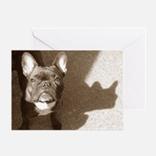 SUNNY FRENCHIE Greeting Card