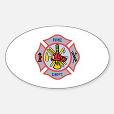 MALTESE CROSS APPLIQUE Decal