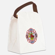 MALTESE CROSS APPLIQUE Canvas Lunch Bag