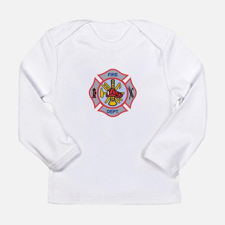 MALTESE CROSS APPLIQUE Long Sleeve T-Shirt