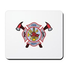 MALTESE CROSS APPLIQUE Mousepad