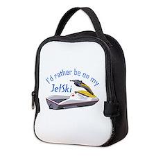 RATHER BE ON MY JET SKI Neoprene Lunch Bag