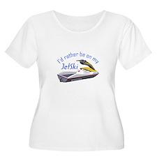 RATHER BE ON MY JET SKI Plus Size T-Shirt