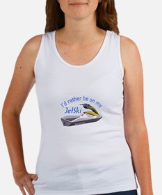 RATHER BE ON MY JET SKI Tank Top