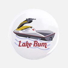 "JET SKI LAKE BUM 3.5"" Button"