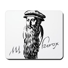 John Knox Portrait with Signature Mousepad