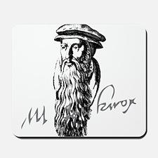 John Knox Portrait with Signature Mousepad