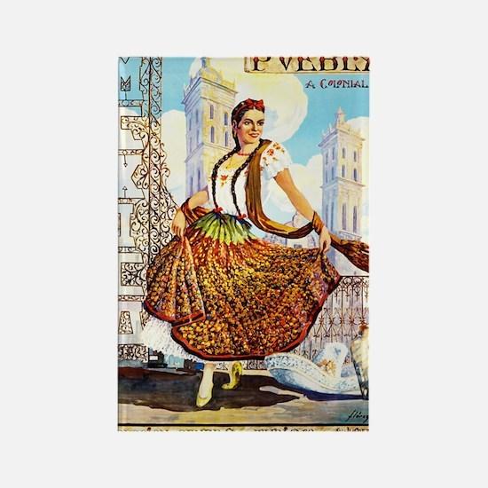 Puebla Mexico ~ Vintage Travel Magnets